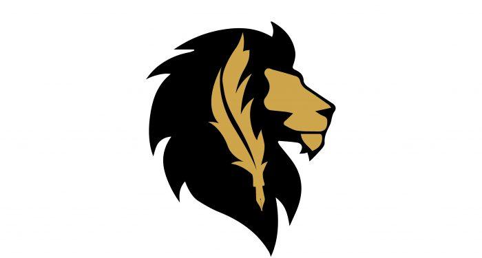 Logo De Schrijvende Leeuw rechts